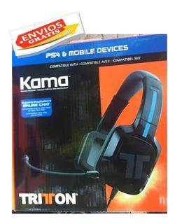 Diadema Headset Xbox One / Ps4. Tritton Kama / Nuevo