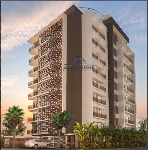 Torre De Apartamentos En La Esmeralda Za48 C