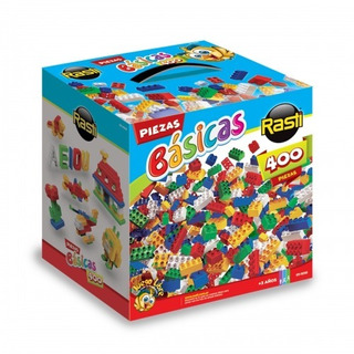Rasti Ladrillos Bloques Kit 400 Piezas Básicas Colores Smile