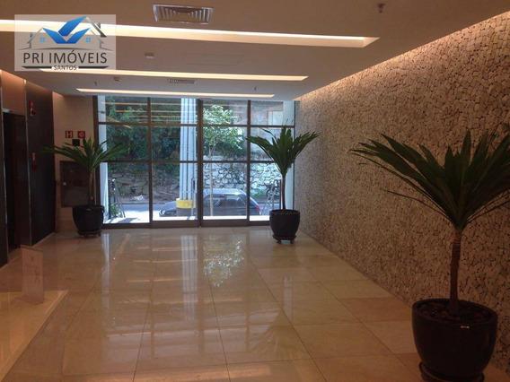 Sala À Venda, 64 M² Por R$ 400.000,00 - Valongo - Santos/sp - Sa0035
