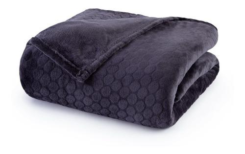Imagen 1 de 6 de Frazada King Palette De Flannel Fleece Jacquard