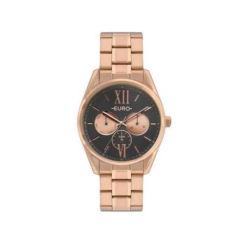 Relógio Euro Feminino Construções Rosê Eu6p79ae/4c