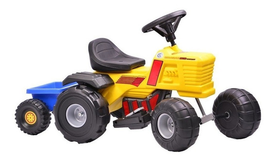 Tractor A Bateria 6v Tractorcross Rodacross Au116 Babymovil