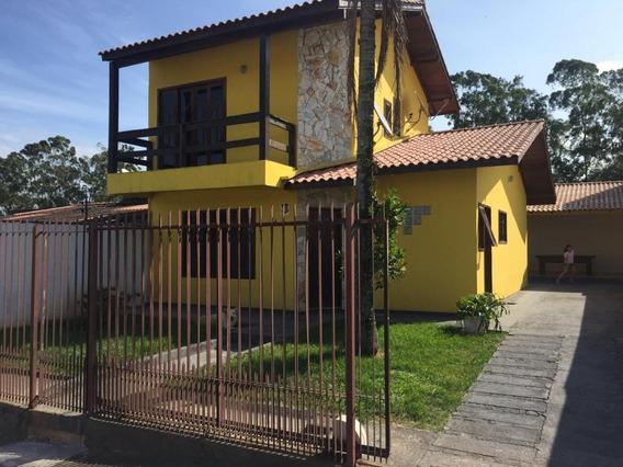 Casa Sendo De Dois Pavimentos 3 Dormitórios Com Suíte À Venda, 150 M² Por R$ 445.000 - Potecas - São José/sc - Ca2488