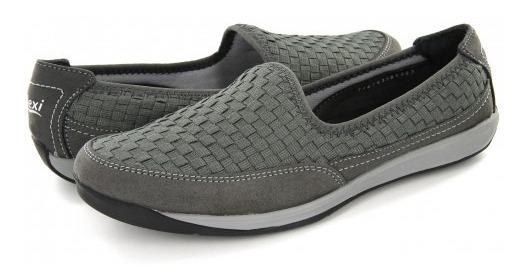 Zapatos Flexi 28306 Gris 22.0 - 27.0 Damas