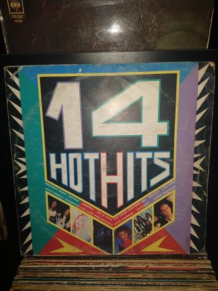 Disco De Vinilo,int.varios,14 Hot Hits