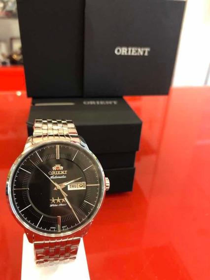 Relógio Automático 3 Estrelas Orient 469ss061