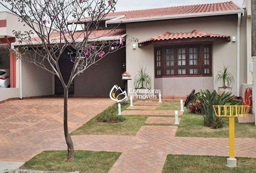 Casa Com 3 Dormitórios À Venda, 180 M² Por R$ 640.000,00 - Condomínio Campos Do Conde I - Paulínia/sp - Ca1668