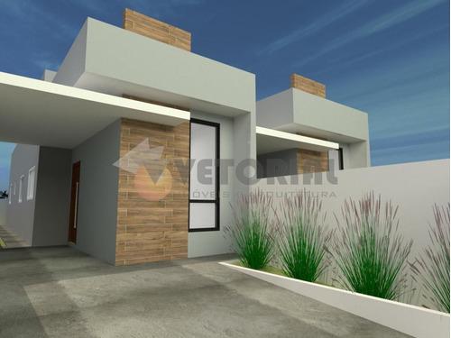 Imagem 1 de 14 de Casa Com 2 Dormitórios À Venda, 64 M² Por R$ 250.000,00 - Balneário Dos Golfinhos - Caraguatatuba/sp - Ca0611