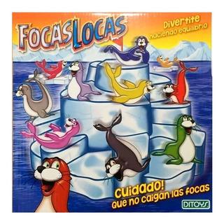 Juego De Mesa Focas Locas Ditoys 1852 Envio Full (1330)