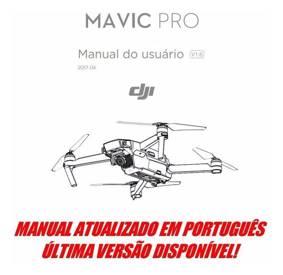 Manual Atualizado Em Português Do Drone Dji Mavic Pro V1.6
