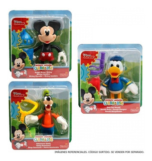 Mickey Caballero Clubhouse Figuras Disney Xunidad
