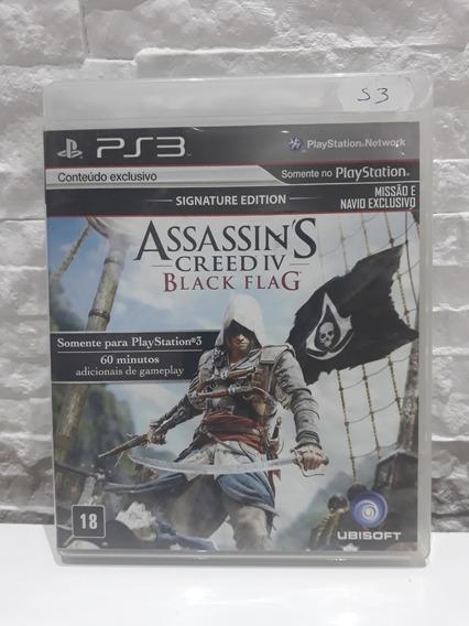 Jogo Assassins Creed Iv Black Flag 3 Ps3
