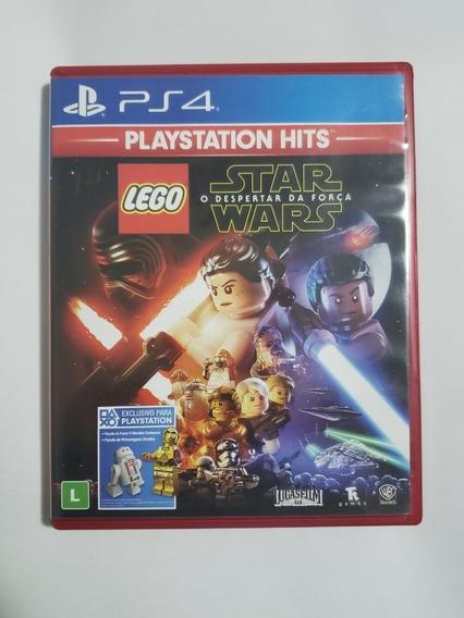 Lego Star Wars Despertar Da Força Ps4 Mídia Física Seminovo