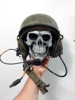 Capacete De Tripulação Tanque De Guerra Com Equip Eletr