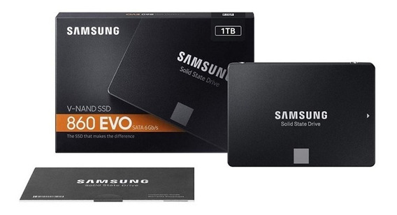Ssd Samsung 1tb 860 Evo Sata3 Lacrado Garantia