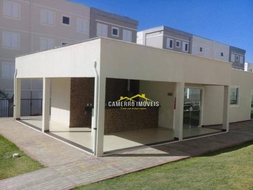 Imagem 1 de 15 de Apartamento Com 2 Dormitórios Para Alugar, 45 M² Por R$ 800,00/mês - Morada Do Sol - Americana/sp - Ap0674