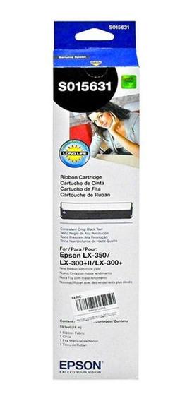 Fita Nylon P/impressora Matricial Lx300/ 350 S015631 - Epson