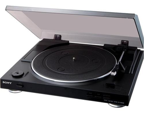 Tornamesa Sony Pslx300usb Usb Estereo Vinil - Negro