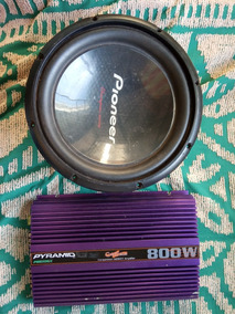 Alto Falante Pioneer De 12 Ts-w309s4 + Caixa E Modulo 800w