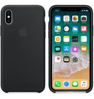 Protector Silicona Case iPhone X Original