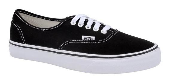 Tênis Vans Authentic Black/white 11738 Original