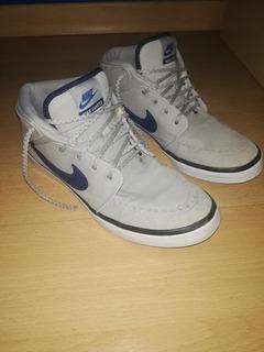 Zapatillas Nike Suketo Grises Estilo Bota