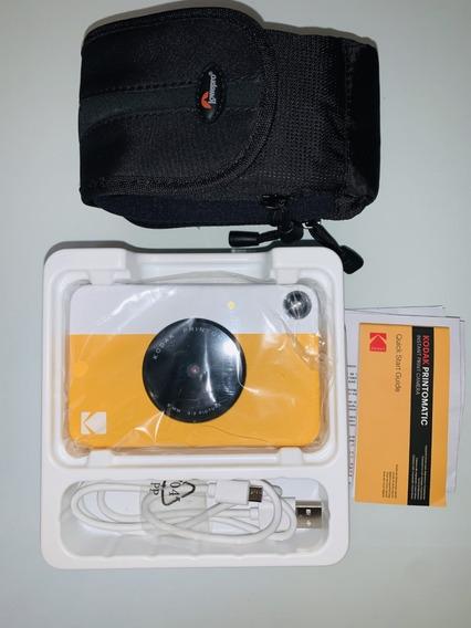 Câmera Digital Instantânea Kodak Rodomatic 5mp Amarela