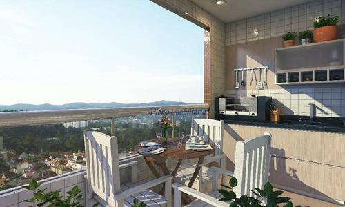 Imagem 1 de 18 de Apartamento Com 2 Dormitórios Sendo 1 Suíte, À Venda, 76 M² Por R$ 511.996 - Vila Guilhermina - Praia Grande/sp - Ap0816
