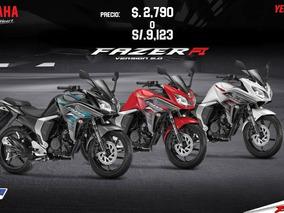 Moto Yamaha Fazer Fi Con Promociones Navideñas