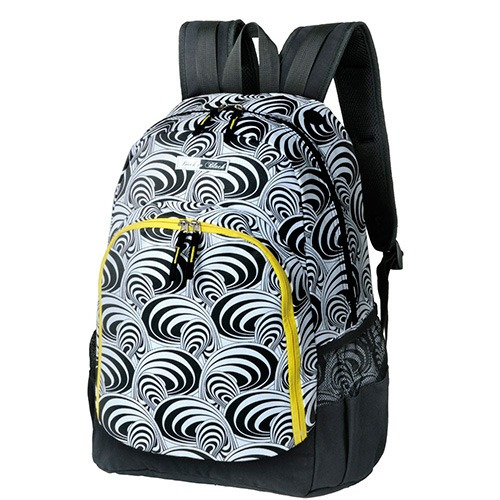 Mochila Escolar Foroni Back To Black Spiral