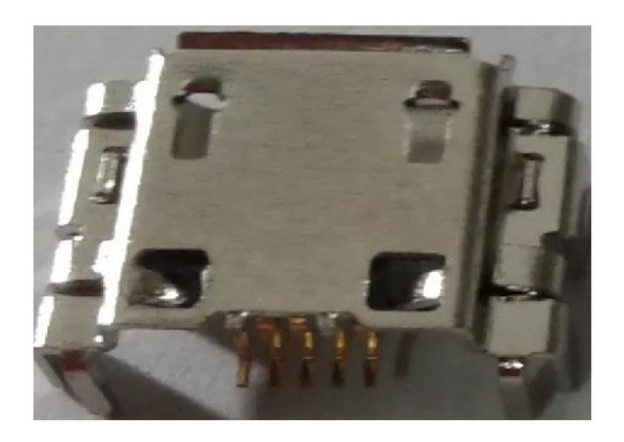 Conector Micro Usb Fêmea Multilaser M7s Quad Core Kit 5un