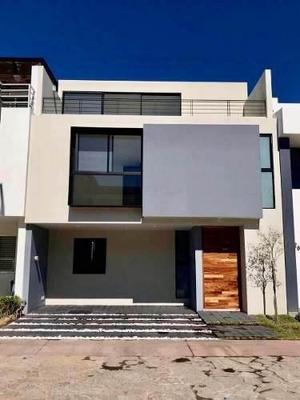Casa Nueva Moderna En Venta En Coto En Solares, Zapopan