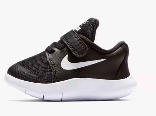 Ennegrecer Intuición reserva  Tenis Nike Flex Contact 2 Negro Blanco Bebe 11-16 Originales | Mercado Libre