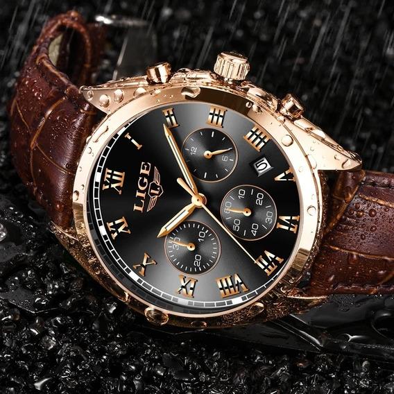 Relógio De Luxo Marca (lige)Porva D