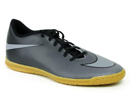 Chuteira Nike Bravata Il Futsal  Cinza 844441-004