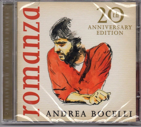 Cd Andrea Bocelli - Romanza 20 Th Anniversary Edition