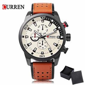 Relógio Masculino Curren Original Com Estojo - Promoção