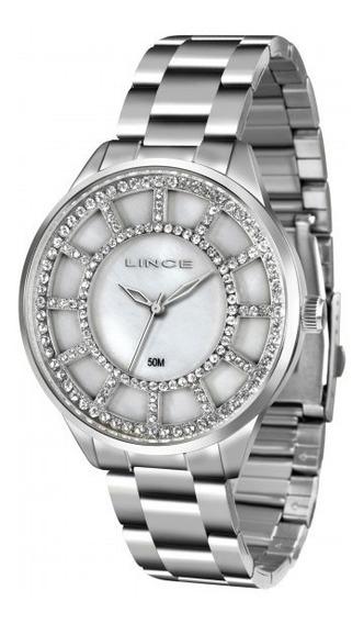 Relógio Lince Lrm4378l B1sx Glam Feminino Branco- Refinado