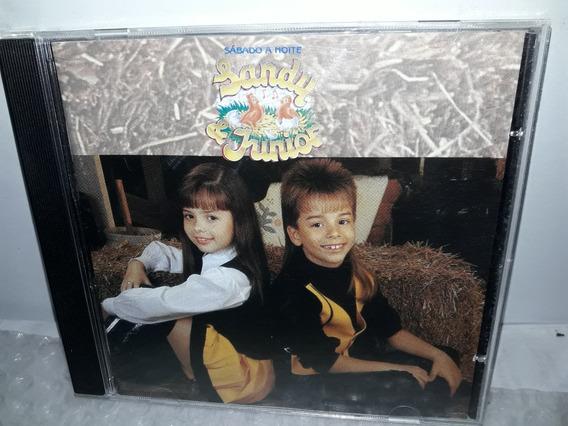 Cd Sandy & Júnior 1992 Sábado A Noite Ótimo Estado