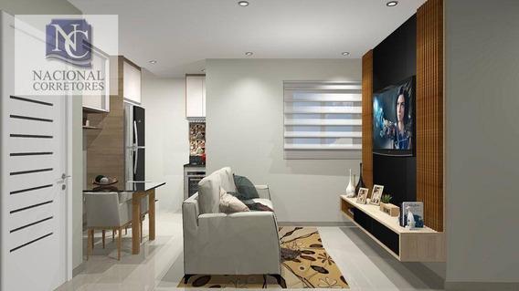 Cobertura Com 3 Dormitórios À Venda, 130 M² Por R$ 500.000,00 - Vila Curuçá - Santo André/sp - Co4824