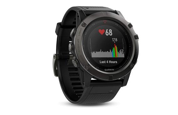 Garmin Fenix 5x Reloj Smartwatch Gps , Zafiro, Gris /negro