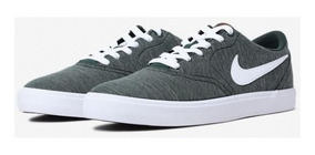Tênis Nike Sb Check Solar Cnvs Prm 844493300 Verde/mescla