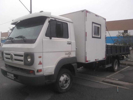 Vw 8.150 Delivery Plus Car. Aberta + Cabine Acessória