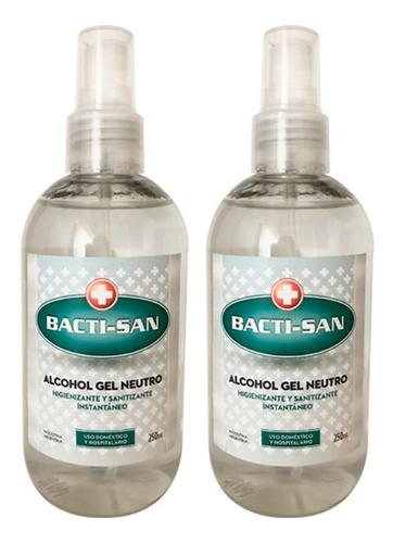 Imagen 1 de 2 de 2 Alcohol En Gel Antibacterial Higienizante Manos Anmat X250