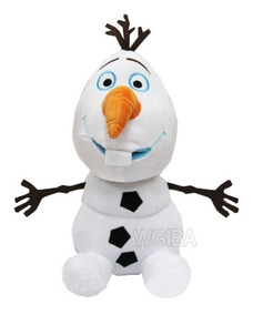 Pelucia Grande Olaf 35 Cm Do Filme Frozen Antialergico