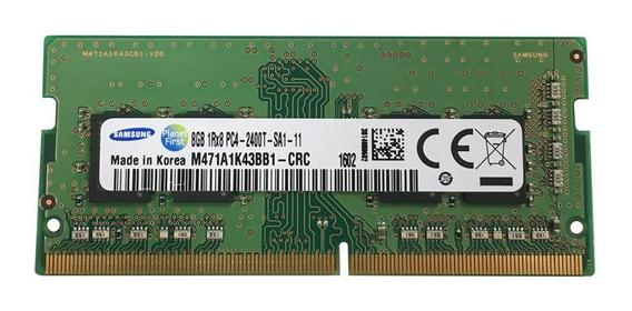 Memória Notebook Samsung 8gb Ddr4 2400mhz Pc4-2400t 1rx8