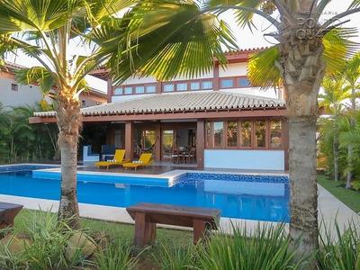 Casa Em Condominio - Praia Do Forte - Ref: 5048 - V-5048