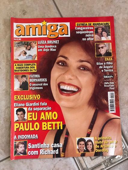 Revista Amiga Eliane Giardini Luíza Brunet Michael Jackson