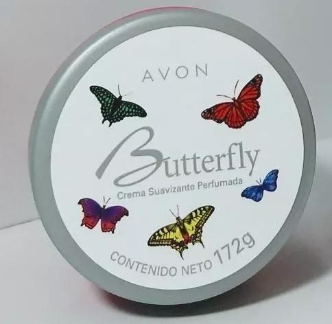 Creme Perfume Butterfly Avon